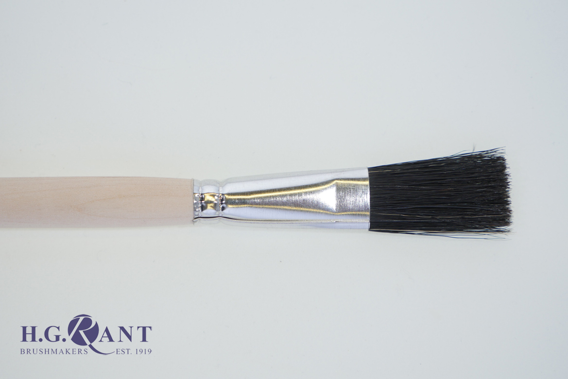 Flat Fitch Brush