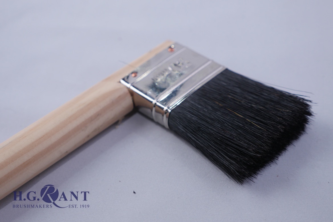 Wooden Handle Radiator Brush