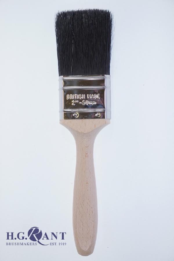Professional Paint Brush with Beavertail Handle and Stainless Steel Ferrule