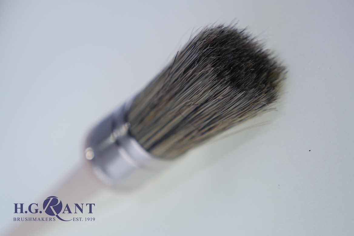 Round Grease Brush