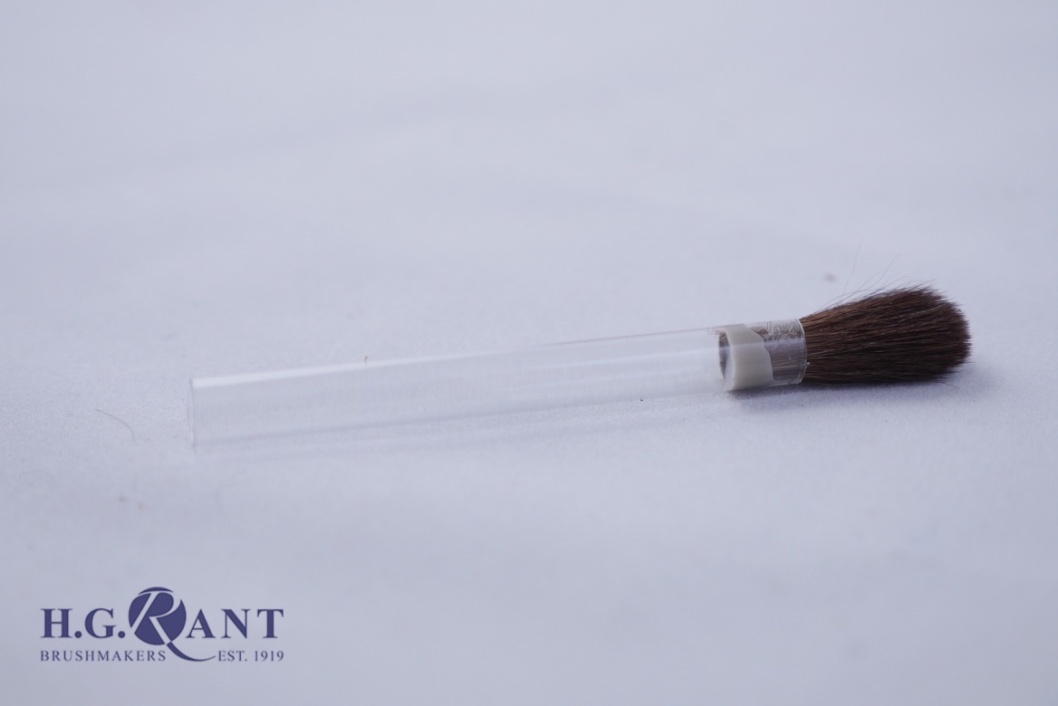 Borax Brush with hollow plastic handle