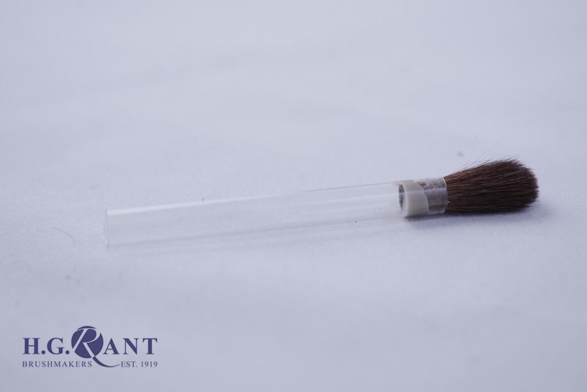 Borax Brush with hollow plastic handle