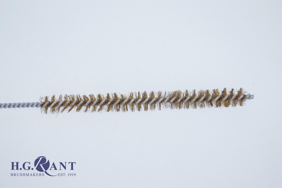 Tube Brush Brass Wire