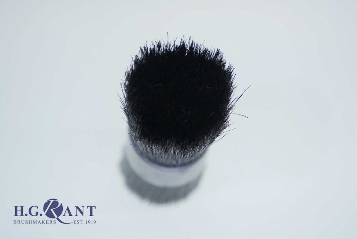 Round Pattern Sieve Brush Nylon one end Bristle the other