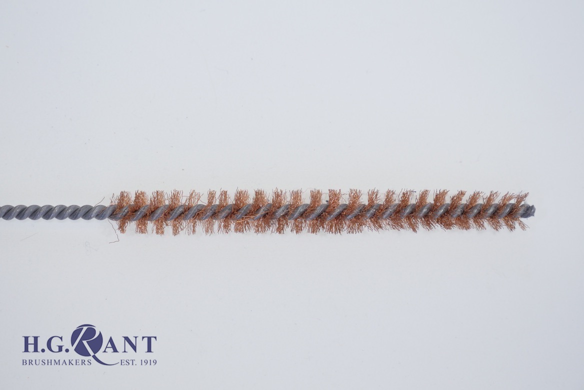 Twisted-In-Wire Tube Brush Phosphor Bronze Wire