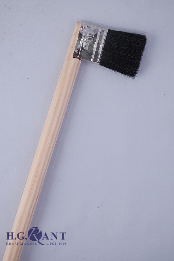 Wooden Handle Radiator Brush